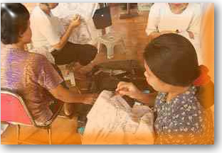 handicrafts processing